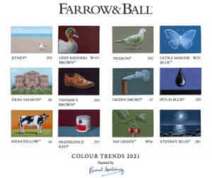 Colour Trends for 2021 from Farrow & Ball